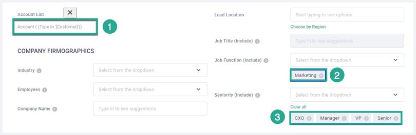 screenshot Salesforce account